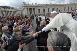Pope Francis General Audience: Go and do likewise
