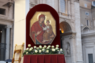 "The Blessed Virgin Mary ""Door of Mercy"" in Rome for the Jubilee"