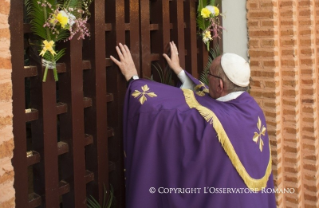 Homily of hia Holiness Pope Francis: opening of the holy door at the cathedral of Bangui