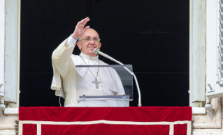 Pope Francis Regina Coeli in Saint Peter's Square