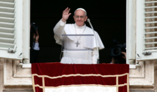 Pope Francis Angelus in Saint Peter's Square