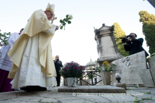 The Holy Father will celebrate Mass at the Roman cemetery of Prima Porta on 2 November.