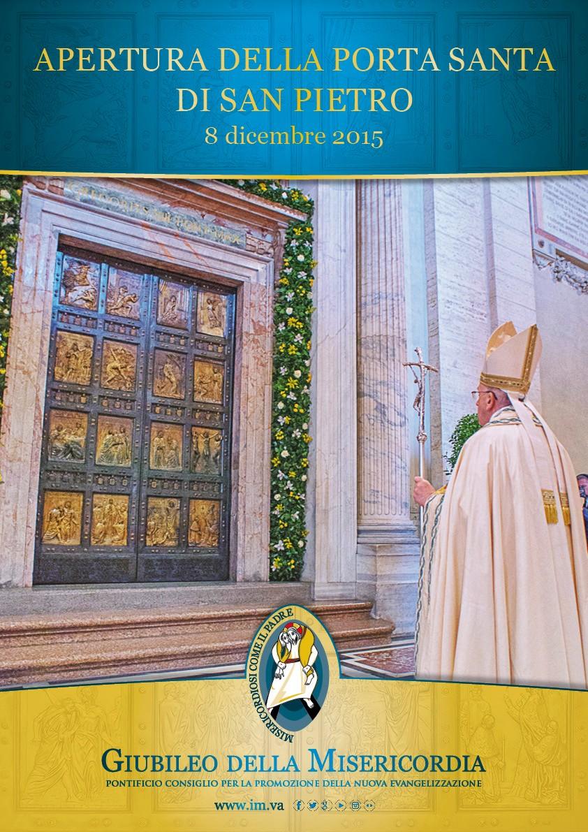 Apertura della porta santa di san pietro - Apertura porta di roma ...