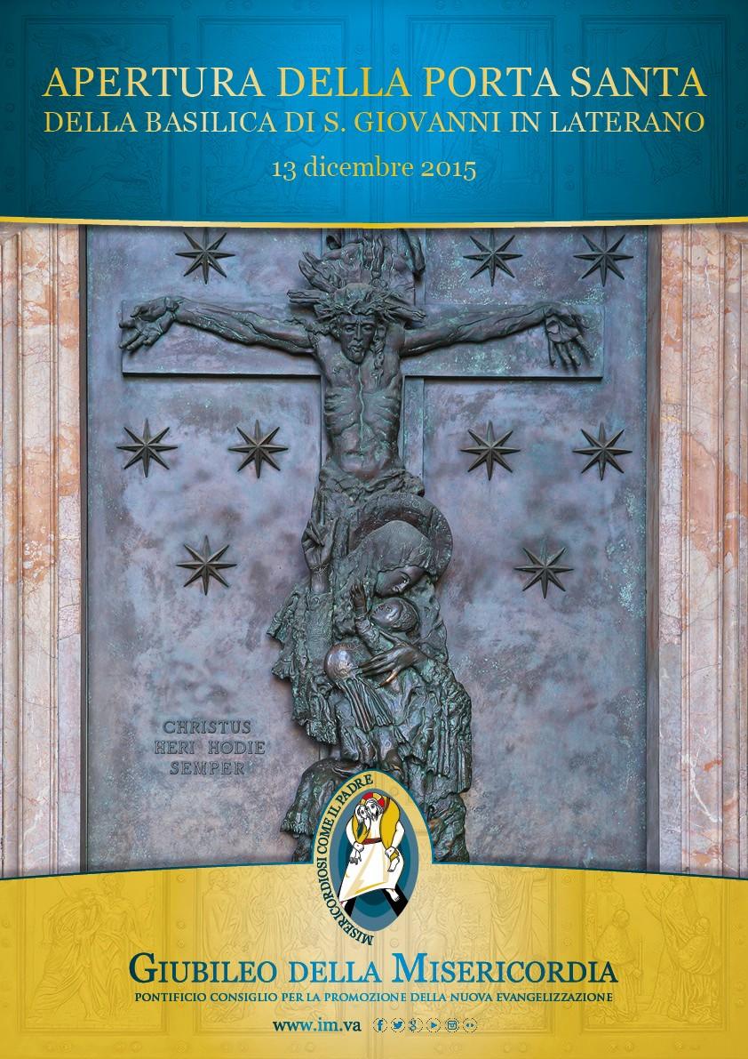 Apertura della porta santa della basilica di s giovanni - Apertura porta di roma ...