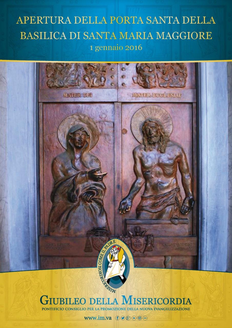 Apertura della porta santa di s maria maggiore - Apertura porta di roma ...